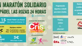 I Maratón Solidario de Pádel 24h ininterrumpidas