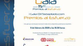 "Gala ""Premios al Esfuerzo"""